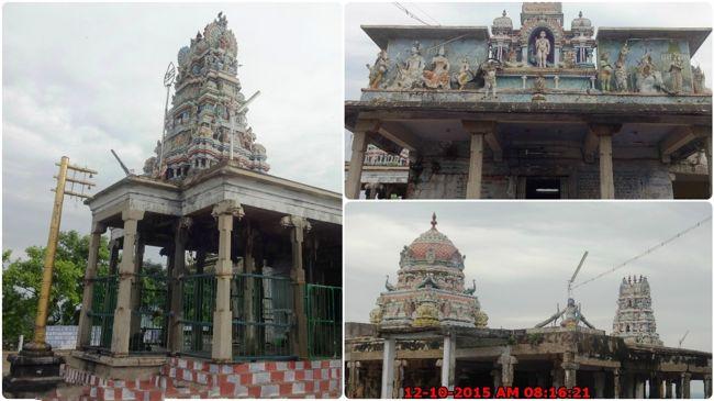 Sri Bala Dhandayuthapani Temple Kodimaram & Vimanams