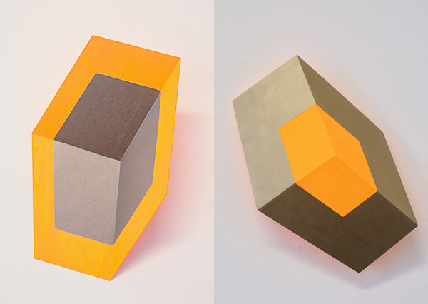Henriëtte van 't Hoog - Cubes Orange and Gold