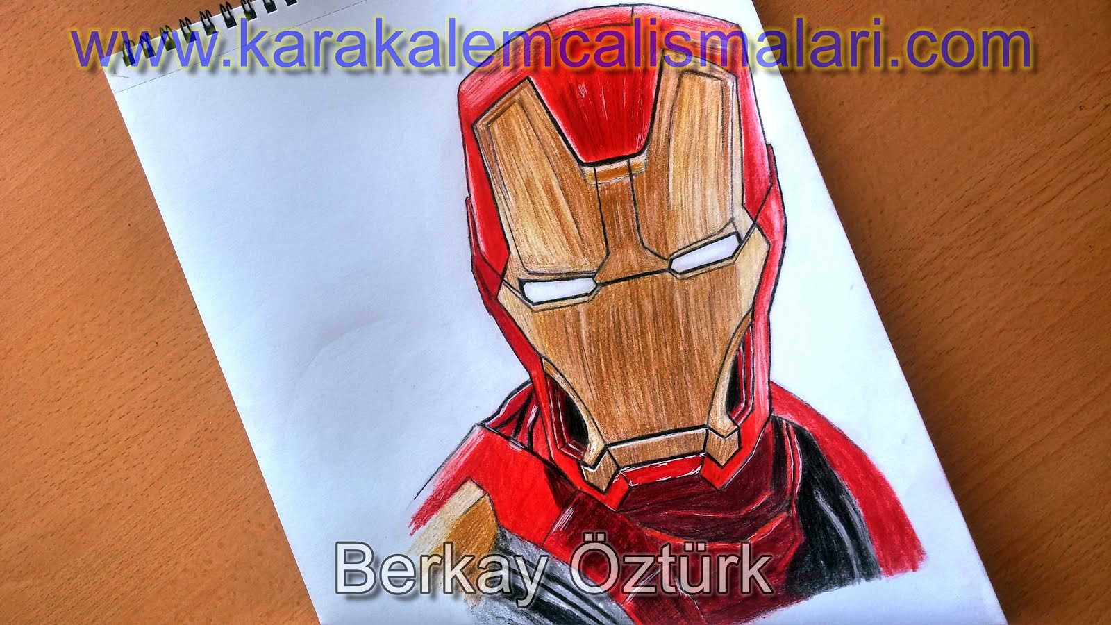 Awesome Maske Boyama Iron Man Sayfalari