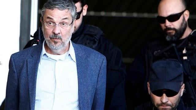 Brazilian court sentences ex-finance minister Antonio Palocci to 12 years in jail