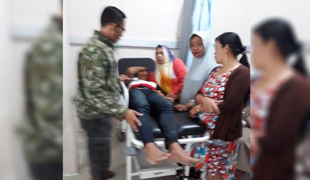 Kondisi korban saat di RS Pasirian
