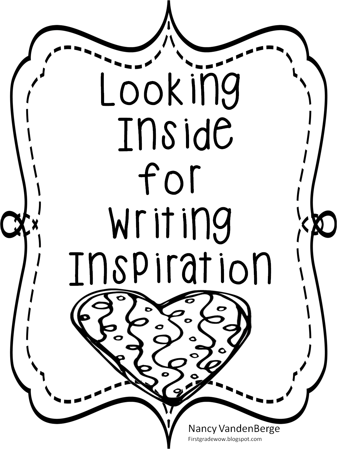 First Grade Wow Beginning Of The Year Writing Inspiration