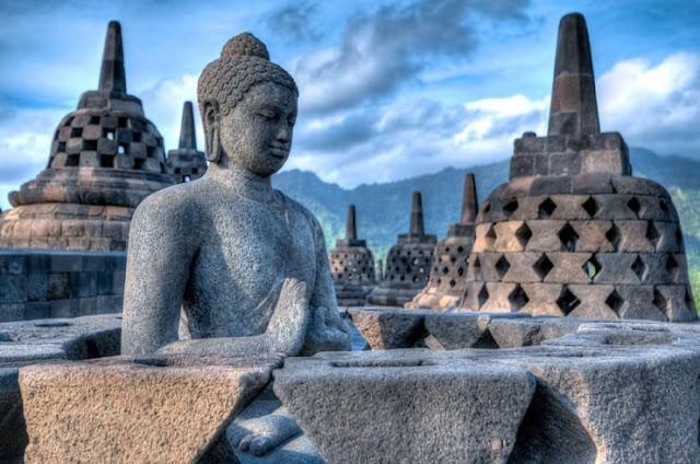 Borobudur, Magelang, Jawa Tengah, Indonesia