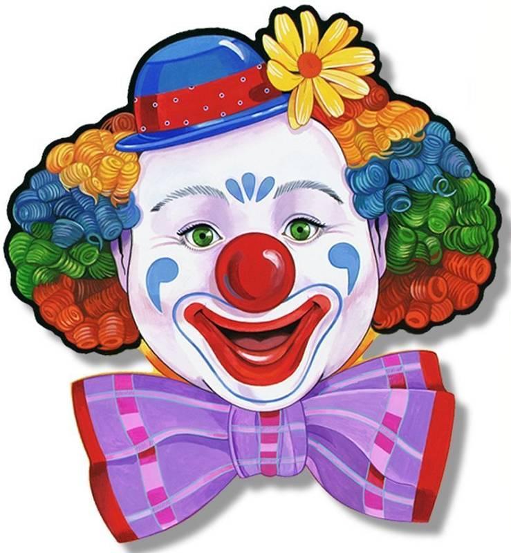 нанести картинка маска клоун рак кожи