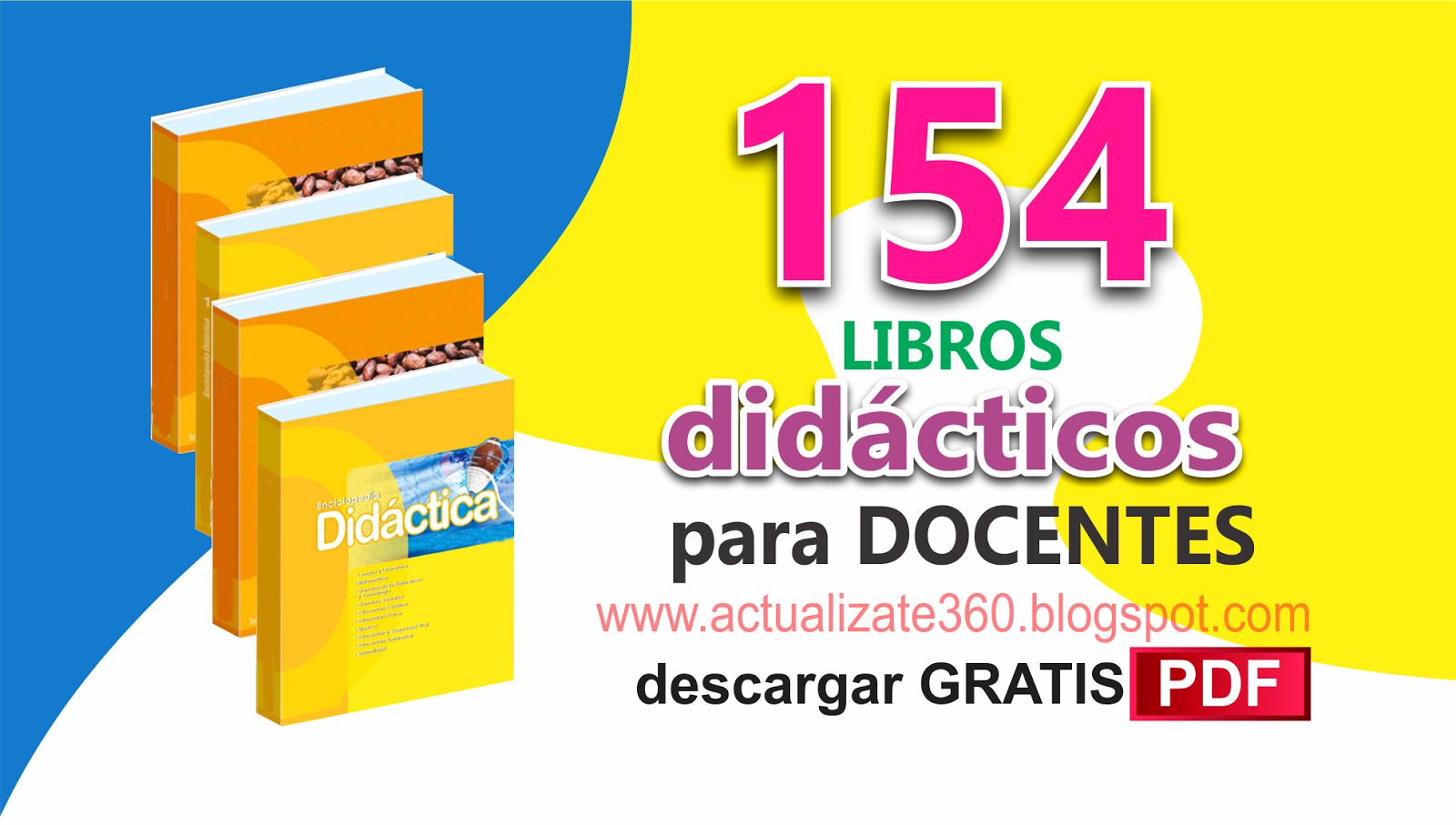 154 Libros Educativos En Pdf Gratis Para Docentes