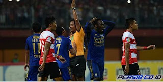Persib Bandung Kalah 1-3 di Kandang Madura United, Dua Gol Dianulir Wasit