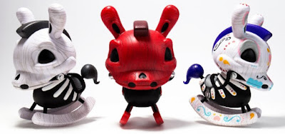 "Death of Innocence Rocking Horse 8"" Dunny Vinyl Figure by Igor Ventura x Kidrobot"