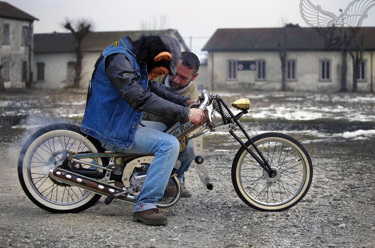 swap meet crap rat bike of the day   frenchmonkeys moped ...  swap meet crap ...