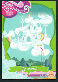My Little Pony Cloudsdale Series 1 Trading Card