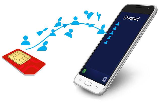 Pindah Kontak Simcard ke memory Telepon HP Xiaomi