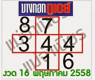 เลขหนังสือพิมพ์ไทยรัฐ เดลินิวส์,หวยหนังสือพิมพ์,หวยซองงวดนี้,ข่าวหวยงวดนี้,หวยเด็ดงวดนี้ ,บางกอกทูเดย์, 16/05/2558