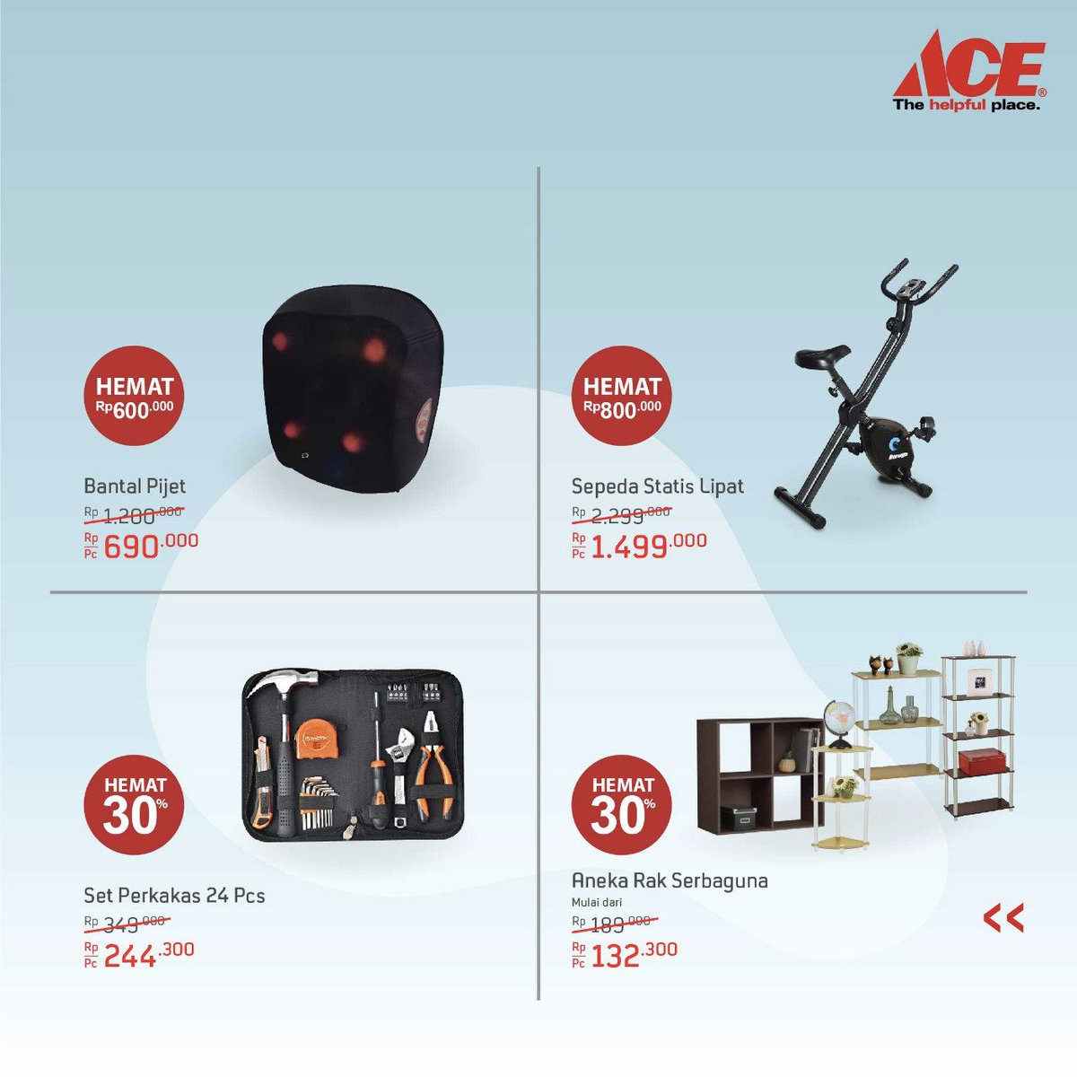 AceHardware - Promo Weekly Offer Periode 01 - 07 Okt 2018