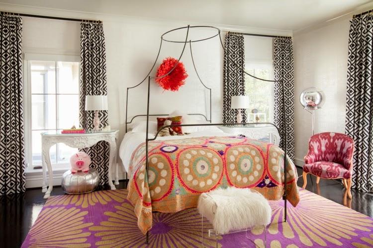 Dormitorios juveniles para chicas ideas para decorar dormitorios - Paredes habitacion juvenil ...