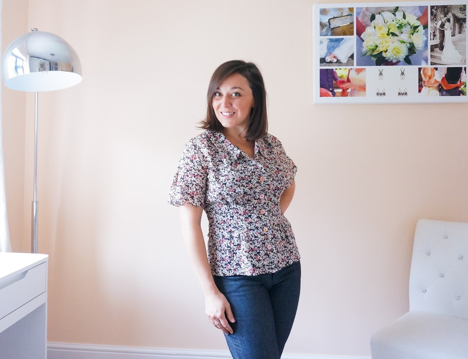 Amelie Tuck Blouse by Til The Sun Goes Down pattern review