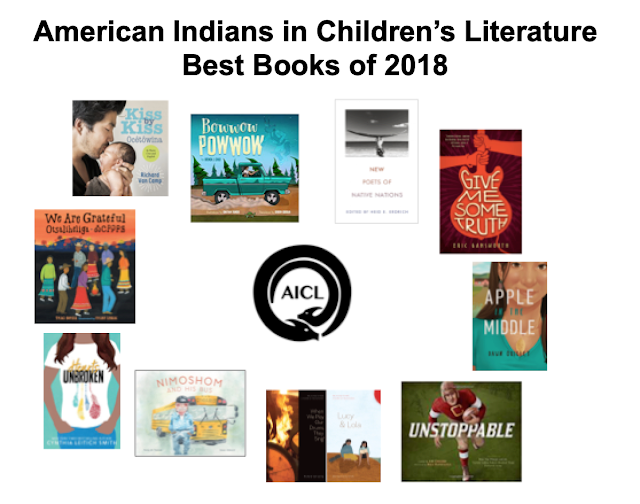 American Indians in Children's Literature: Best Books of 2018.