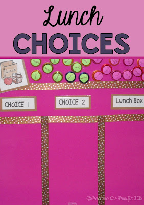 Pinterest Idea for your classroom! Need a small board for something? Try a little magnetic board and tape ribbon to it for the sections.