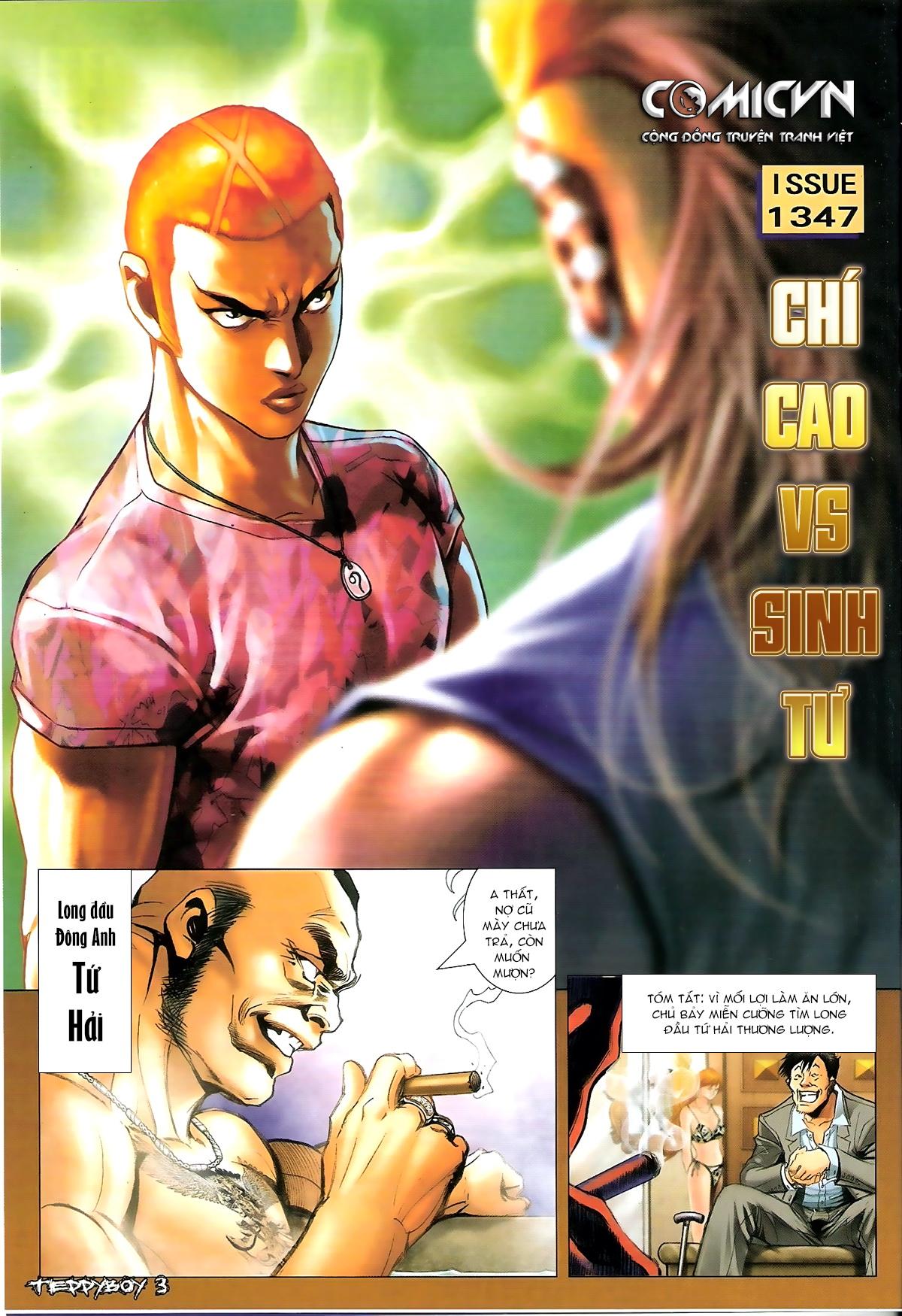 Người Trong Giang Hồ - Chapter 1347: Lý Chí Cao vs Sinh Tư - Pic 2