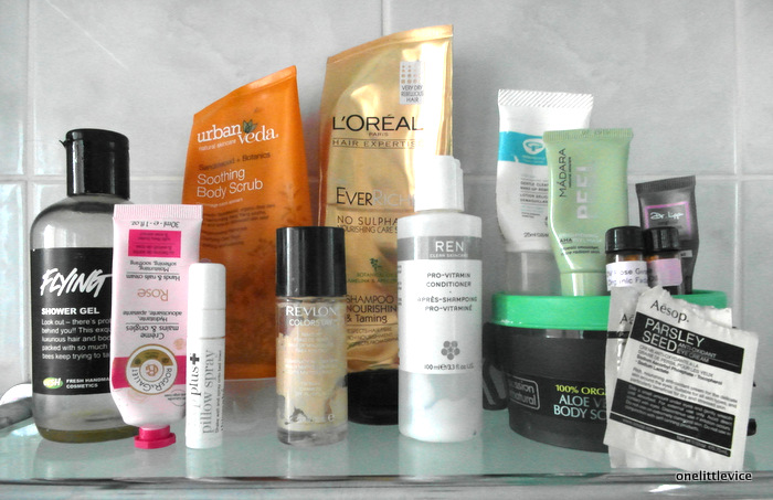 One Little Vice Beauty Blog: January Empties 2015