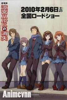 Suzumiya Haruhi no Shoushitsu - The Disappearance of Haruhi Suzumiya 2013 Poster