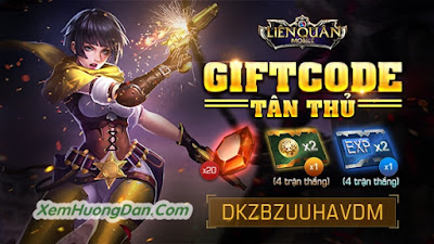 Giftcode game lien quan mobile