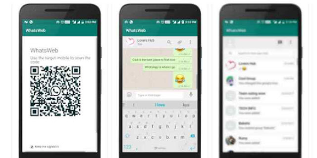 Cara Menggunakan WhatsApp Web Di Android