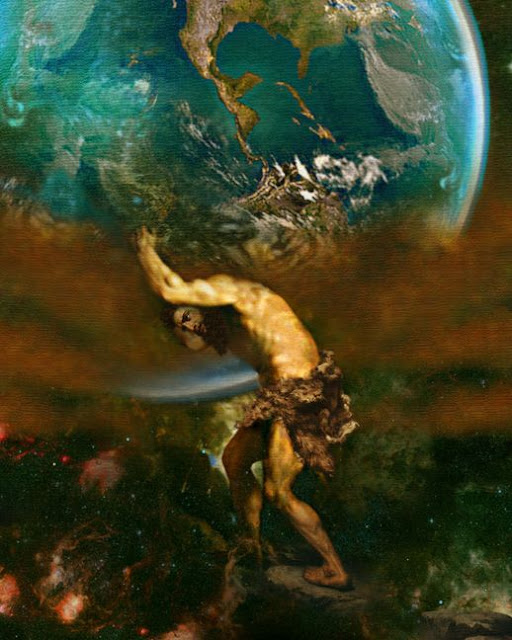 Atlas Image; Howard David Johnson
