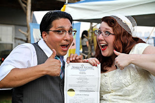 Happy Couple Just Married