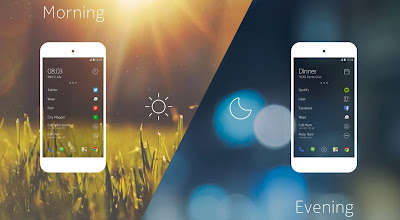 10 Tema Launcher Terbaik, Keren Dan Super Enteng Untuk Android