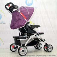 Kereta Bayi Lightweight Junior L'abeille A210 Alloy