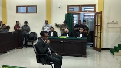 Kasus Pelanggaran Pemilu, Kades Sampangagung Divonis 2 Bulan Penjara