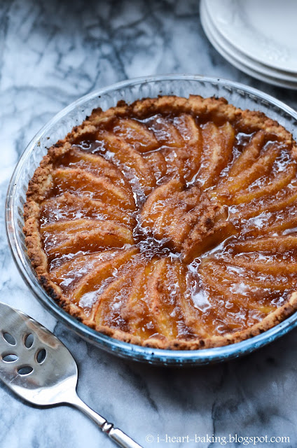 heart baking!: apple tart with olive oil crust