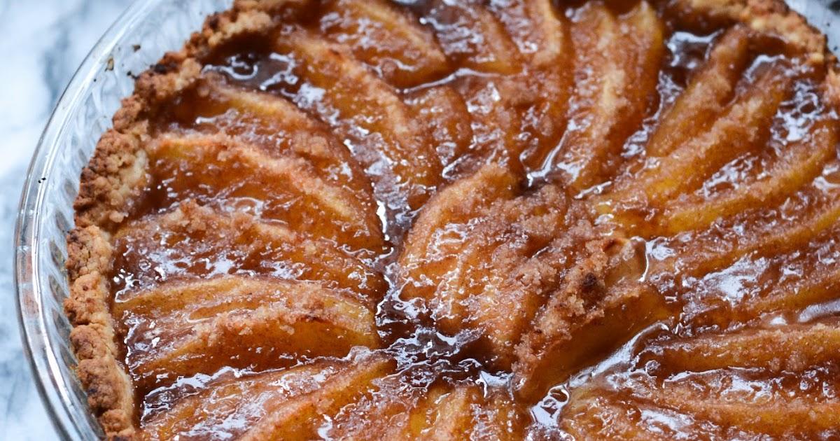 heart baking!: apple tart with olive oil crust