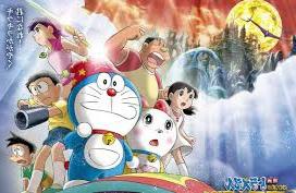 gambar Doraemon dan teman-teman