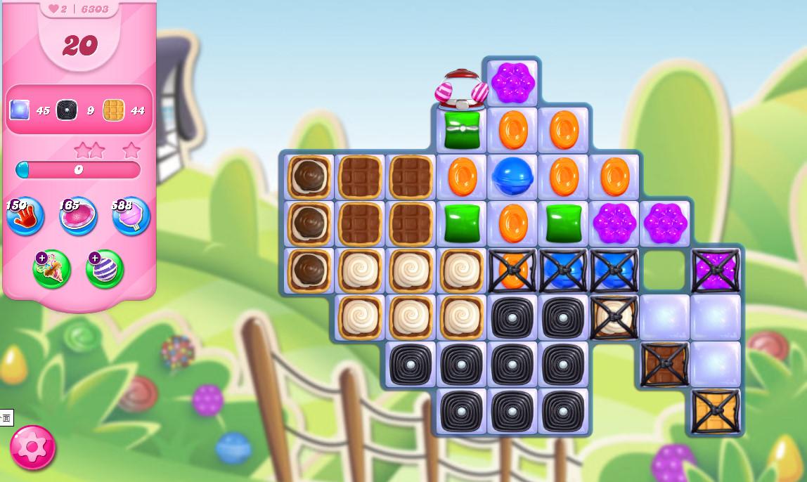 Candy Crush Saga level 6303