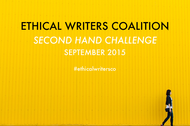 Ethical Writers Coalition Second Hand Challenge