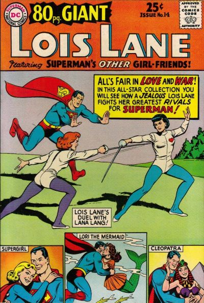 Episode #386 Part II: Superman Family Comic Book Cover Dated September 1965: 80 Page Giant #14!