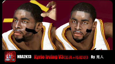 NBA 2K13 Kyrie Irving Cyberface with Mask Mod