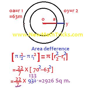 Circle-area-question-solution-formula-math-tricks
