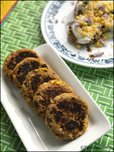 Sweet Potato - Corn Cutlets