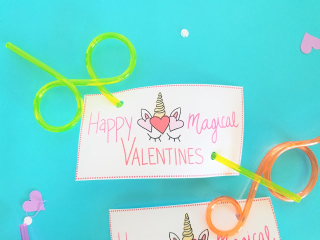 Free Printable Unicorn Valentine