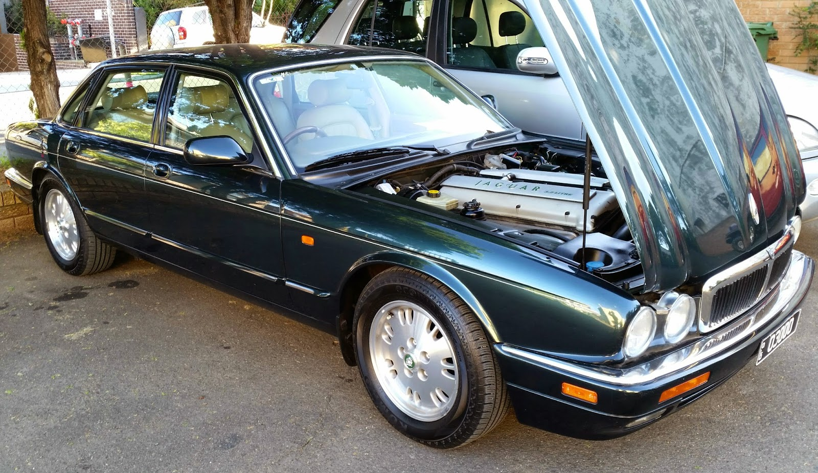 The X300 series Jaguar XJ retained the classic profile of it's predecessor,  the XJ40 of the late 80's and early 90's. A silhouette that is instantly ...