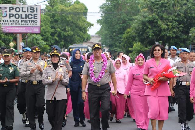 Kapolda Lampung Kunker ke Polres Metro