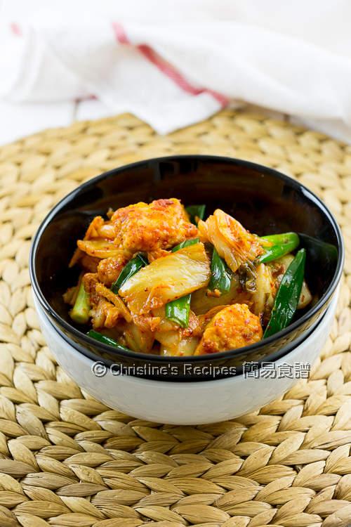 Kimchi Chicken Stir Fry01