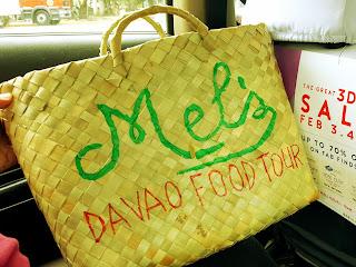 Mel davao food tour souvenir