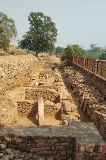 17th century Mughal-era shops unearthed at Fatehpur Sikri in northern India