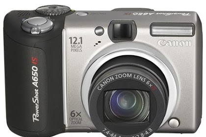 Canon PowerShot A650 IS Driver Download Windows, Mac
