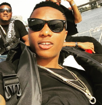 wizkid baby boy photos