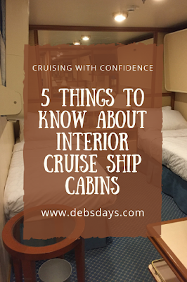 5 things to know about cruise ship interior cabins