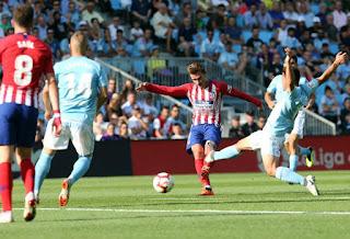 Video Celta Vigo - Atletico Madrid: 6 phút 2 bàn, bi kịch đuổi người