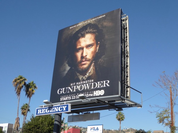 Gunpowder miniseries billboard